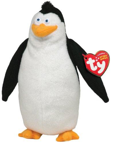 Ty Beanie Baby Rico Madagascar   Pingüino de peluche