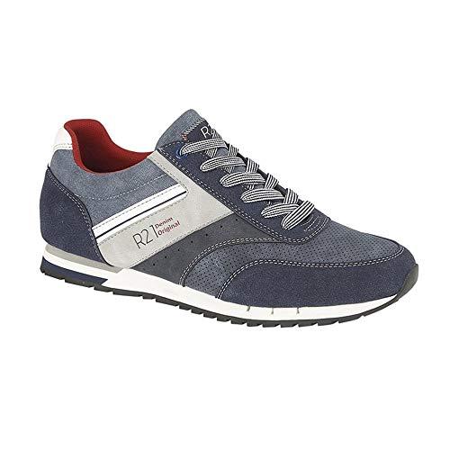Route 21, sneaker uomo, blu (marina militare), 40