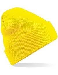 Amazon.co.uk  Yellow - Skullies   Beanies   Hats   Caps  Clothing d7fdc63bbdbc