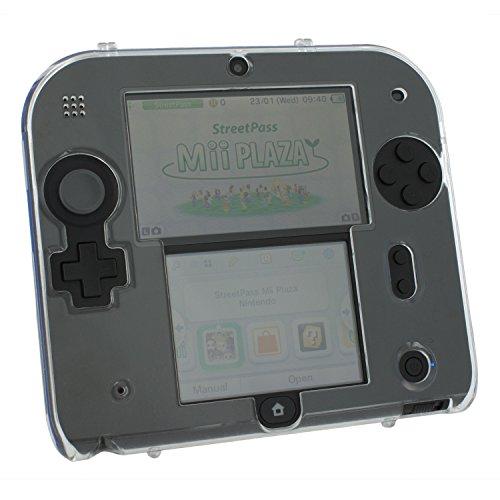 Polycarbonat-guard (ZED Labz Crystal Clear Polycarbonat Kunststoff Hard Case Schutzhülle Armour Cover Shell für Nintendo 2DS)
