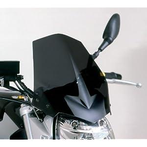 Puig 4117F Windschutzscheibe speziell Suzuki GSR 06-11 Transparent / Dunkelgrau Rauch