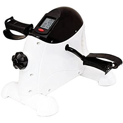 Oypla Arm/Leg Mini Cycle Pedal Exercise Resistance Bike Fitness Gym from Oypla