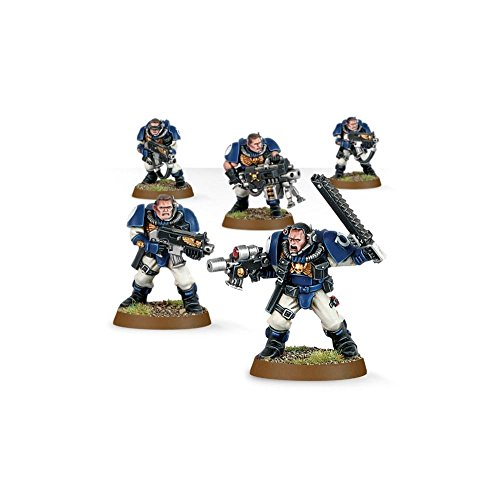 Space Marine Scouts Squad Warhammer 40k by Games Workshop (English Man