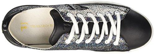 Trussardi Jeans 79s02049, Baskets Femme Noir (19 Tutto Nero)