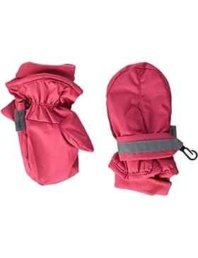 Sterntaler Fäustel für Kinder, Handschuhe, Wasserabweisend und reflektierend, Rot