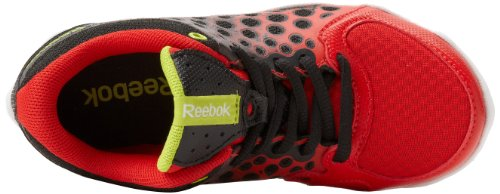 Reebok ATV 19 Synthétique Chaussure de Course Black-Techy Red-White-Green