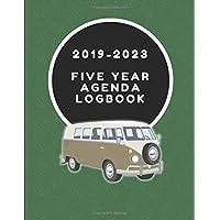 2019-2023 Five Year Agenda Logbook: Campervan Journal Note Book 3