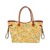 DAKERTA Große Strandtasche mit Reißverschluss Sommer TascheVerschluss Damen Shopper Tasche...