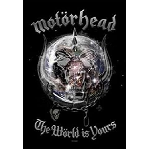 Motorhead The World Is Yours-Bandiera ufficiale Textile Poster