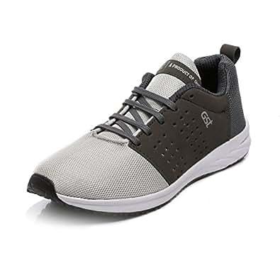 Unistar Men's L.Grey-D.Grey Running Shoes - 10