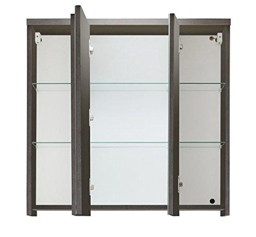 Spiegelschrank Bad Holz von trendteam 75 cm - 2