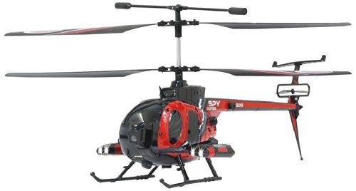 *Jamara 037065 – RC Spy Copter 500 mit Gyro und Camera inklusive 2.4 GHz Fernsteuerung*