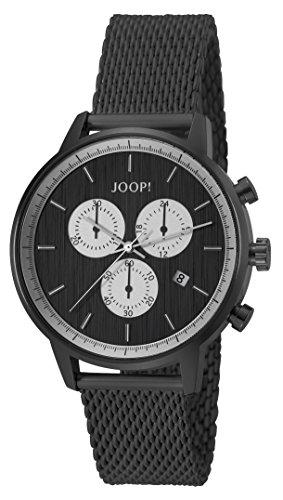 JETTE Quarz-Uhr (Analog) mit Edelstahl-Armband und Klappschließe