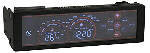 Touch-screen Fan-controller (LC-Power lc-cfc-1 Fan Speed Controller)