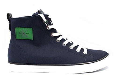 Calvin Klein Jeans 2922 Andis Nylon s0540 Indigo - Chaussures Nylon Bleu