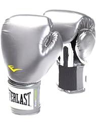 Everlast 2710 - Guantes de boxeo de entrenamiento plata plata Talla:10 onzas