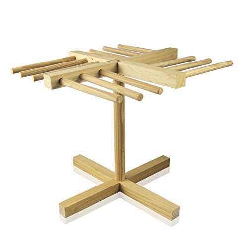 VANRA Pasta Drying Rack, Collapsible for Easy Storage (Pine)