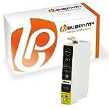 Bubprint Druckerpatrone kompatibel für Epson T0711 für Stylus D78 D92 S20 SX105 SX210 SX218 SX400 DX4000 DX4400 DX6000 DX6050 DX8450 BX300F Schwarz