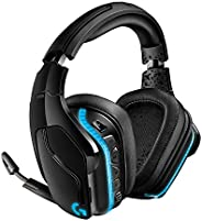 Logitech G935 Wireless Gaming Headset, 7.1 Surround Sound, DTS Headphone:X 2.0, 50mm Pro-G Drivers, 2.4 GHz, F