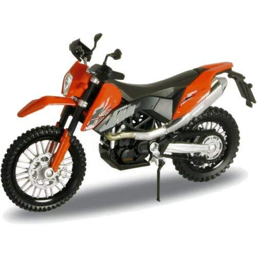 Welly K-T-M 690 Enduro Orange 1/18 Modellmotorrad Modell Motorrad