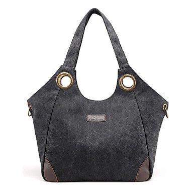 pwne Frauen Mode Klassische Crossbody-Tasche Black