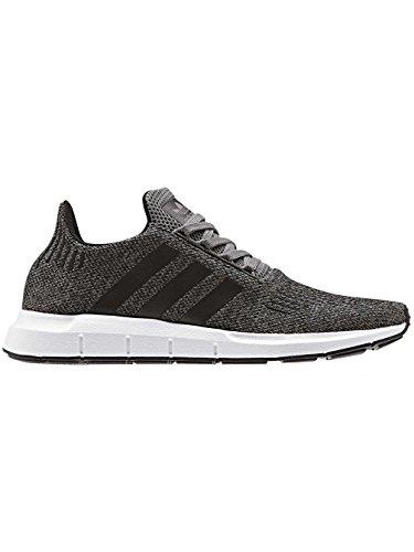 Adidas Herren Swift Run Laufschuhe, Mehrfarbig (Grey Four F17/Core Black/Ftwr White), 45 1/3 EU