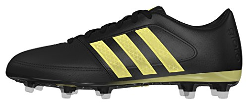adidas Gloro 16.1 Fg, Scarpe da Calcio Unisex – Adulto Nero (Core Black/gold Metallic/core Black)