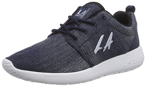 L.A. Gear Sunrise, Low-Top Sneaker donna, Blu (Blau (Blue 01)), 40