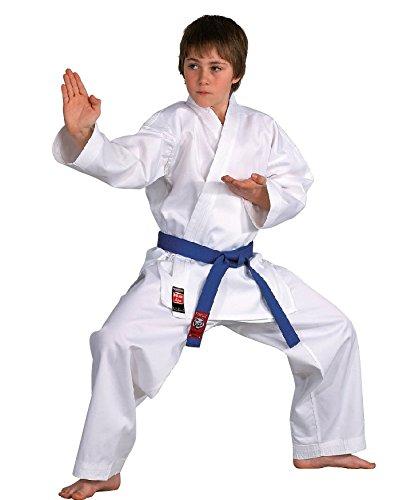 Karateanzug Dojo Line von DANRHO, weiß, 229049, Gr. 120-210