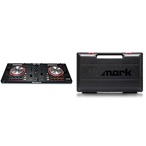 Numark MixTrack Pro III 2 Deck DJ Controller mit Audio I/O, Pads und Multifunktionaler Touchstrip + Serato DJ Intro & Prime Loop Remix Tool Kit + Mixtrack Transport Case für Mixtrack Serie (Loop Case Pack)