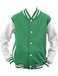 ShirtInstyle College Jacke Jacket Retro Style L,KellyWeiss