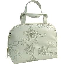 Vagabond manico in pelle Diva bag Sacchetto bianco Faux Toiletries
