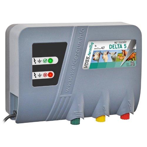 *230V Weidezaungerät Delta 5 Netzgerät – Perfekte Hütesicherheit Elektrozaungerät*