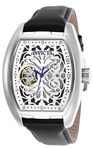 Invicta Herren Chronograph Automatik Uhr mit Leder Armband 26089 (Invicta Chronograph Automatik)