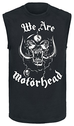 Motörhead We Are Motörhead Camiseta Tirantes Negro M