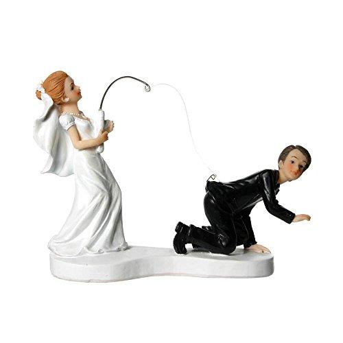 günstige Tortenfigur 2 Wahl 8cm Brautpaar sehr süß Hochzeitspaar für Torte