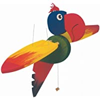 Schwing-Papagei aus Holz Mobile Legler