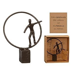 Preis am Stiel Skulptur '' Balance'' | Dekoration Wohnung Modern | Dekofigur | Geschenkidee Mutter | Wohnaccessoire | Skulptur Deko | Skulptur Kunst | Muttertagsgeschenk Dekofigur | Geschenk Frauen