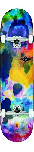 Globe Glb-Full On Skateboard, Unisex – Adulto, Multicolore/Color Bomb, Taglia Unica