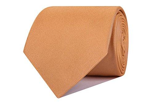 Sologemelos Herren Krawatte Grau grau One size, CBS-30303-COGNAC, Gelb, CBS-30303-COGNAC One size