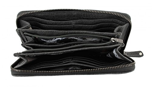 SURI FREY Judy Zip Around Wallet Grey Grigio