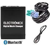 57a3134b601 Adaptador de radio para coche bluetooth USB SD AUX MP3 CD para Becker  Porsche Mercedes Benz Ford Indianapolis
