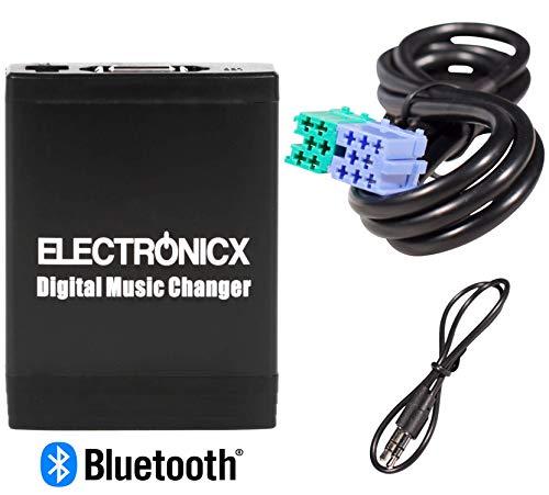 Electronicx Elec-M06-BEK-BT Adapter USB, SD, MP3 AUX Bluetooth Freisprechanlage für Becker Porsche Autoradio Cd Wechsler