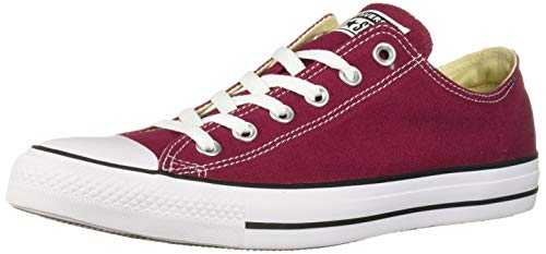 Converse All Star Ox Jungen Sneaker Dunkel Rot (Converse Sneakers Rote)