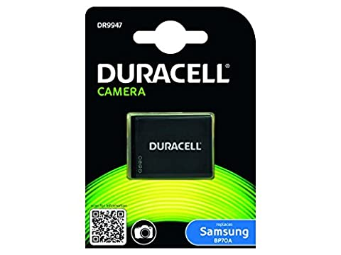 Duracell Replacement Digital Camera Battery for Samsung BP70A Battery