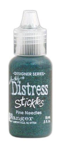 Ranger Tim Holtz Distress Stickles Glitter Glue Pine Needles