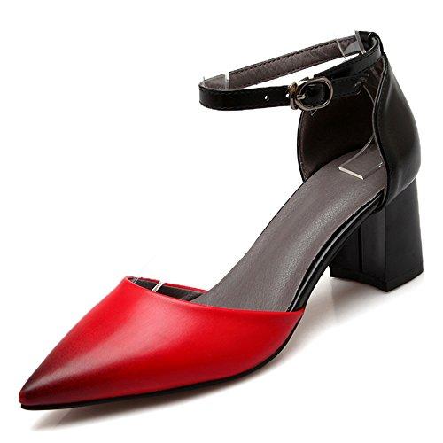 Fashion Heel - Strap alla caviglia donna Red