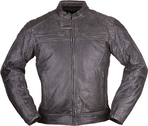 Modeka MEMBER Lederjacke Herren Motorrad Urban – schwarz Größe XL - 4