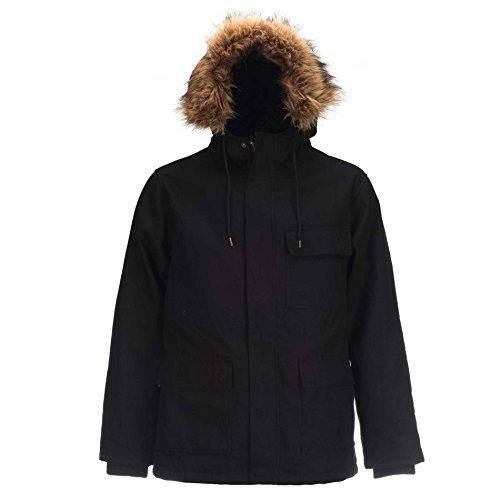 Dickies Elmwood Parka Jacket Black X-Large