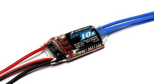 Esc Und Motor Hobbywing (RCECHO® HOBBYWING RC Modellbau Brushless Motor 10A Programmierbare Regler ESC SL152 mit RCECHO® Vollversion Apps Ausgabe)